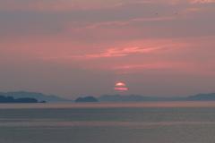 Sunset nad Honshu